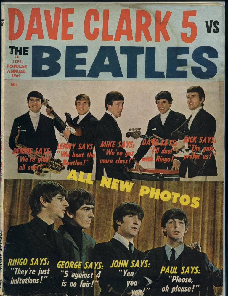 Dave Clark Five vs the Beatles