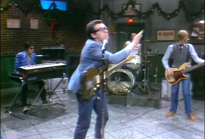 Elvis Costello on SNL, 1977