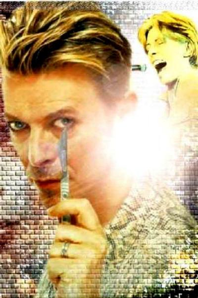 David Bowie will cut you, punk