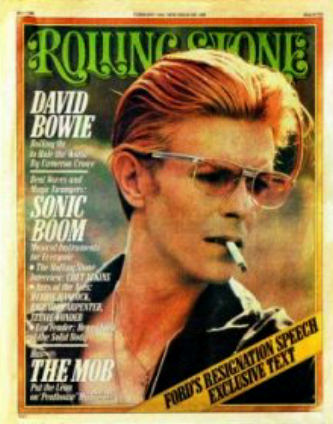 David Bowie Rolling Stone cover