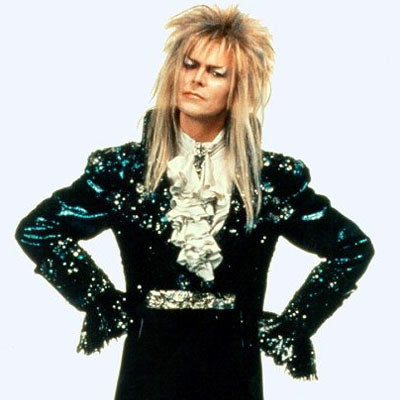 the Labyrinth movie is definitely one of the gayest things David Bowie ever did