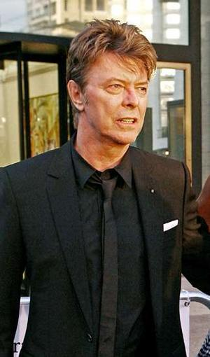 David Bowie looking his age for once