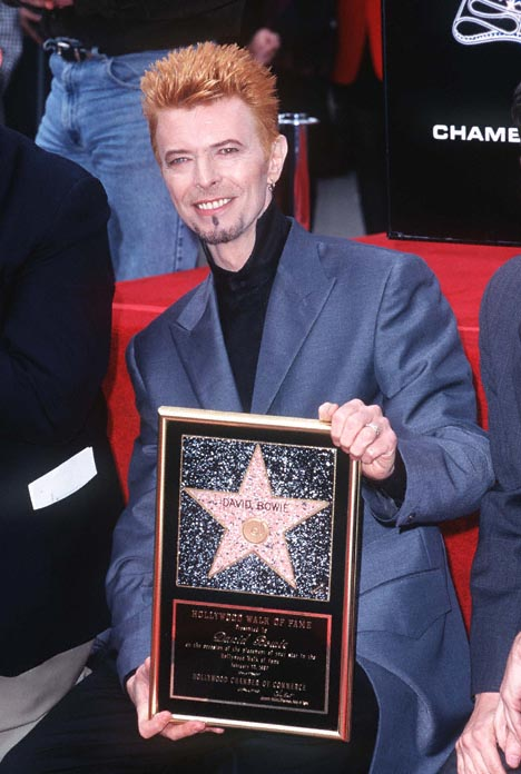 David Bowie on the Hollywood Walk of Fame