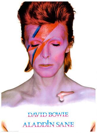 David Bowie is Aladdin Sane