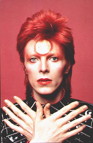 androgynous young David Bowie