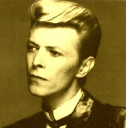 sepia tone David Bowie image