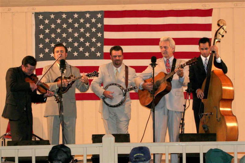 Del McCoury band photo