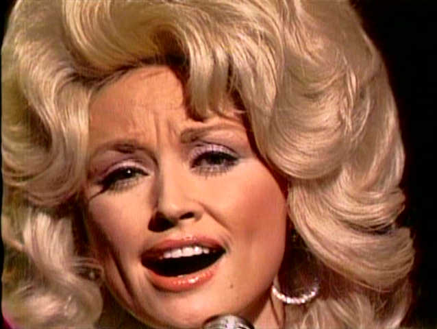 Dolly Parton on Hee Haw, 1975 image