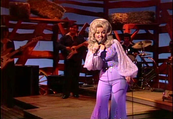 53c3bd6778e Dolly Parton Hee Haw Photo Gallery. Dolly Parton gettin  down with her band