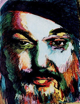 painting of Dr John
