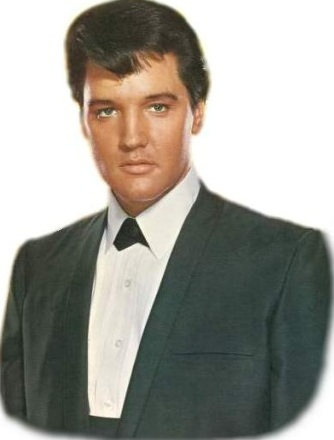 Elvis Presley portrait photo