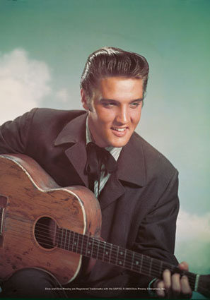 Elvis Presley was about a handsome devil, wasn't he?