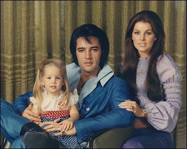 Elvis Presley family portrait