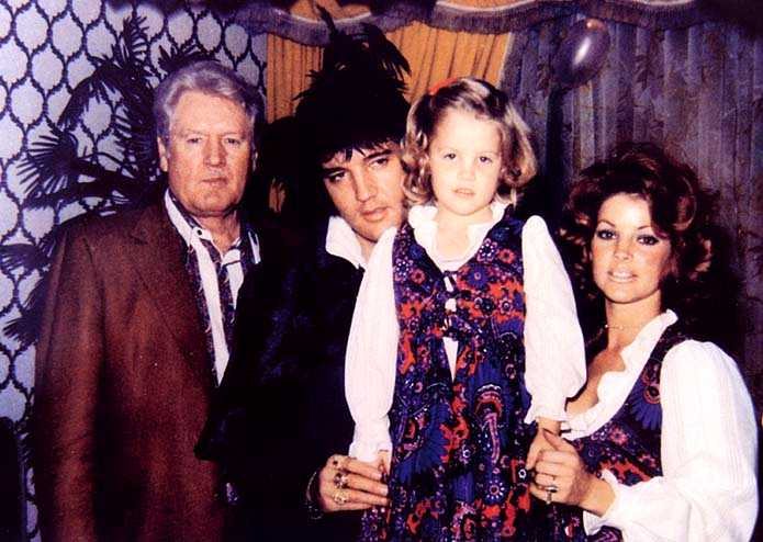Elvis Old Presley Family