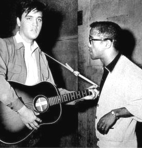 Sammy Davis Jr and Elvis Presley image