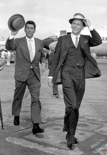 Dean Martin and Frank Sinatra image