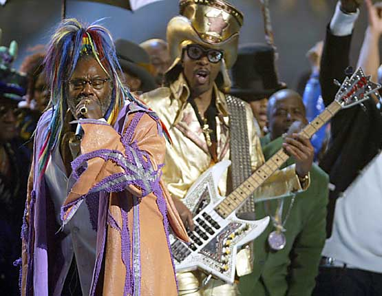 George Clinton and Bootsy Collins photo