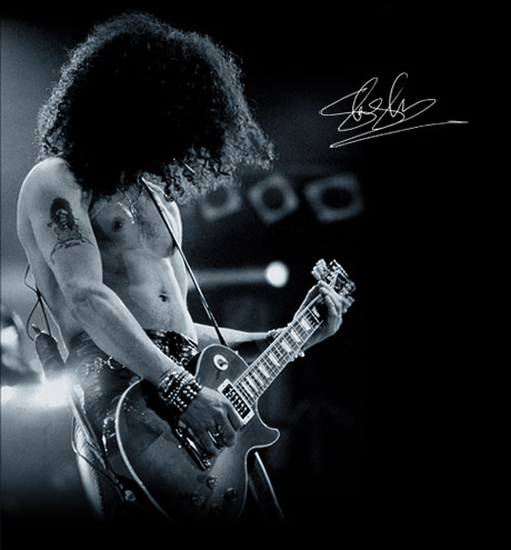 Saul Hudson aka Slash