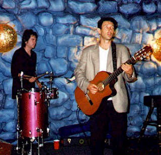 Jonathan Richman and Tommy Larkins