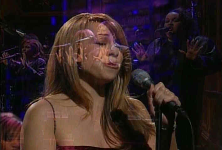 saturday live night carey Mariah