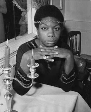 beautiful Nina Simone