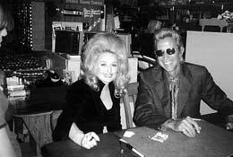 Porter Wagoner and Dolly Parton photo
