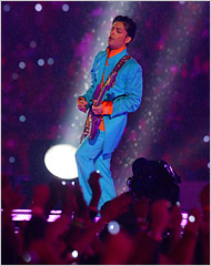 Prince Rogers Nelson Super Bowl 41 halftime image