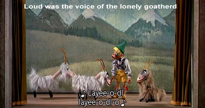 puppet goat herd