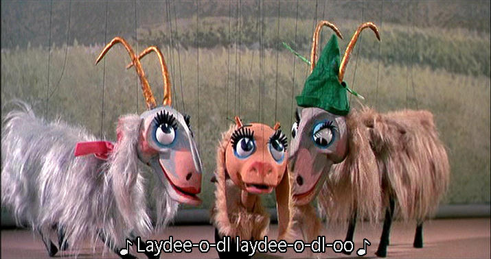 goat puppets from The Sound of Music