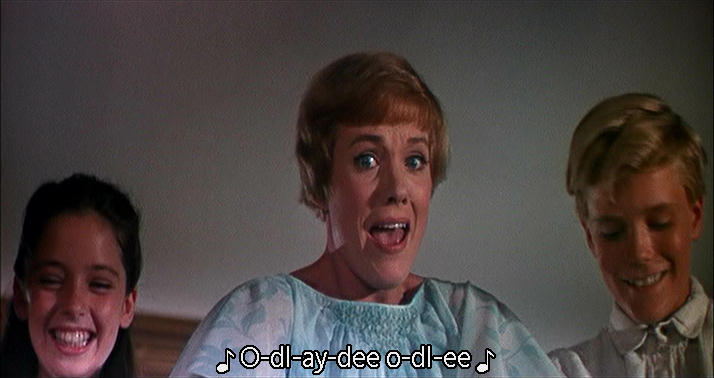 Julie Andrews yodeling
