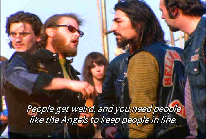 Hell's Angels Photo Gallery, Altamont Music Festival