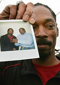Snoop Dogg and Stanley 'Tookie' Williams