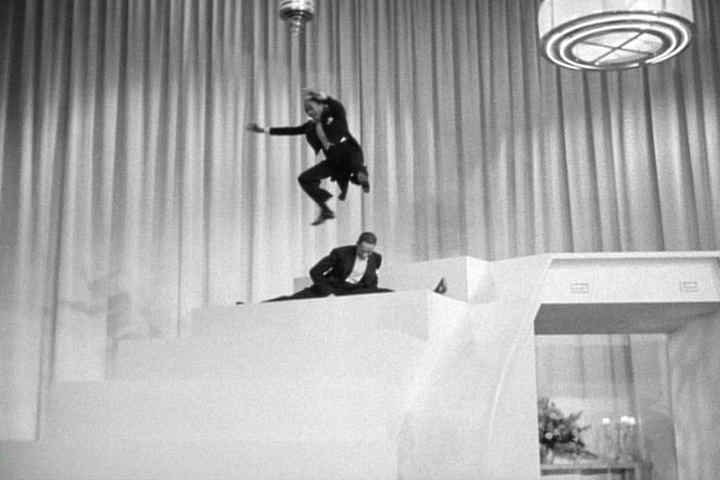 Fayard and Harold Nicholas fly through the air with the greatest of ease