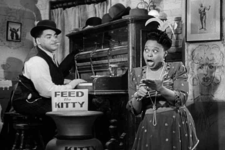 Fats Waller and Ada Brown in Stormy Weather, 1943 image