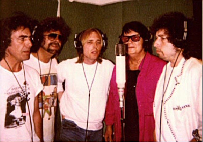 Traveling Wilburys on the mic