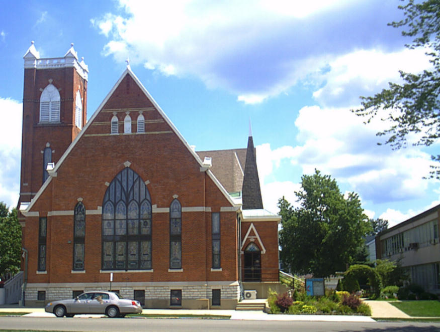 St Paul's United Methodist Church in Rushville, Indiana