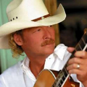 Alan Jackson is a handsome man