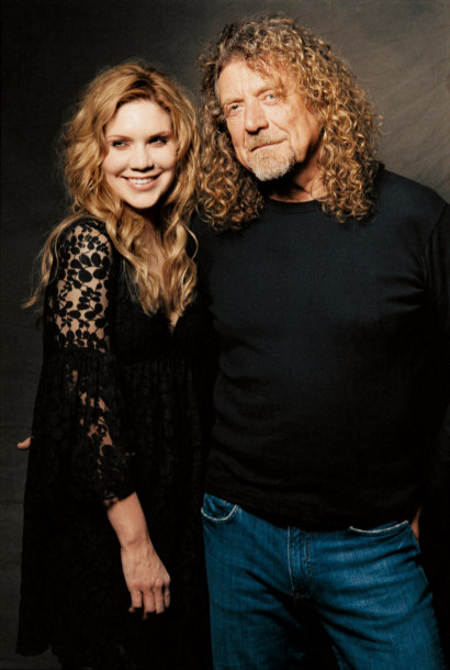 Alison Krauss and Robert Plant image
