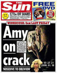 Amy Winehouse smoking crack