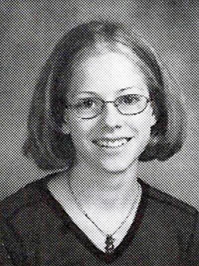Avril Lavigne grade school photo