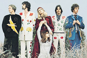 the Flying Burrito Brothers in their Nudie suits