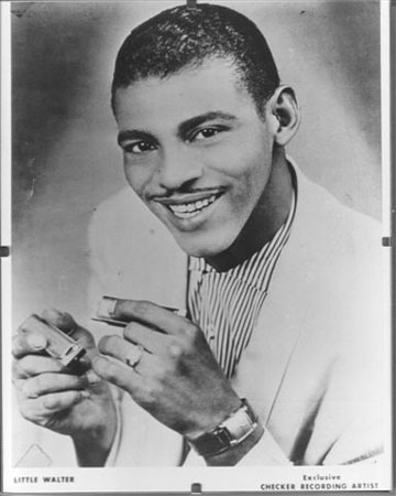 Rock and Roll Hall of Fame member Little Walter Jacobs