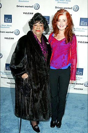 Bonnie Raitt and Ruth Brown