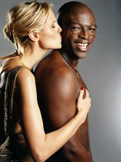 Heidi Klum and Seal image
